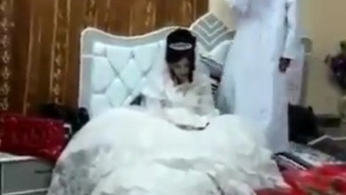 Photo of Outrage as 80-Year Old Man Marries 12-Year Old Girl (Video)
