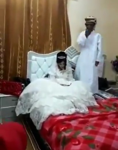 Outrage as 80-Year Old Man Marries 12-Year Old Girl (Video)