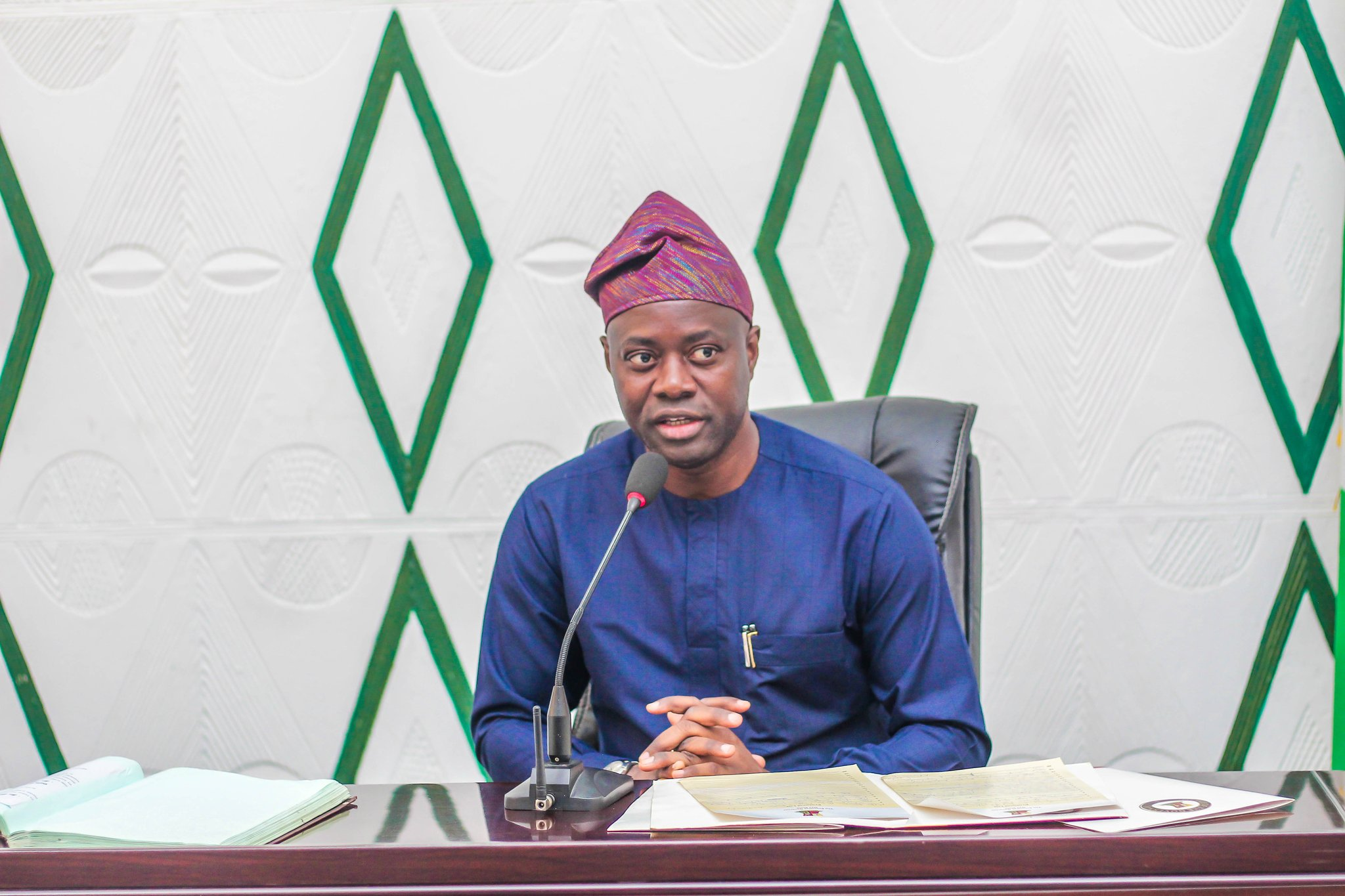 Seyi Makinde Apologizes for Allowing PDP Rally Amidst Coronavirus Outbreak