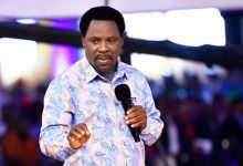 Photo of Prophet TB Joshua Reveals The Date Coronavirus Will End
