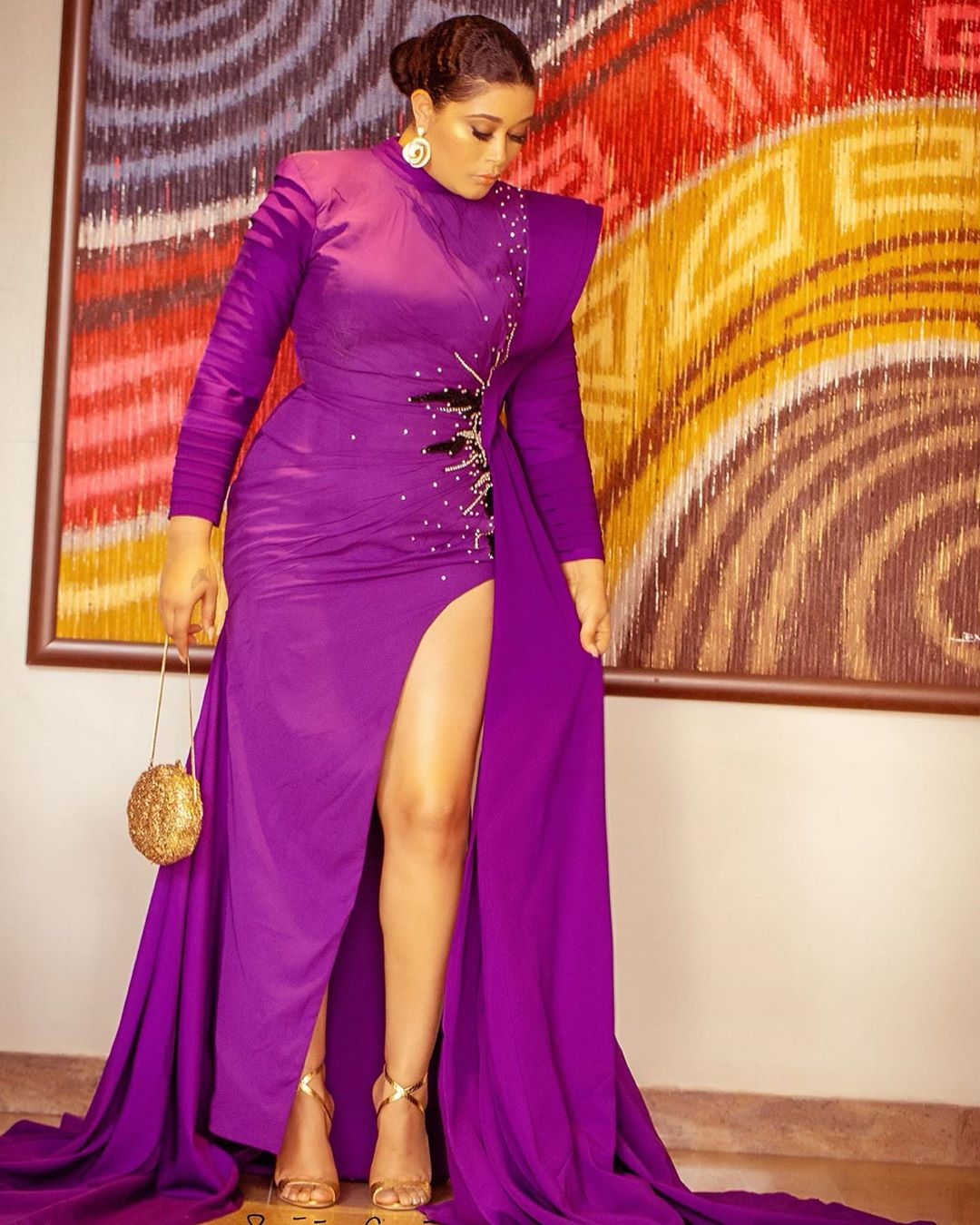 What Your Favourite Celebrities Wear to the AMVCA 1