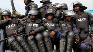 Photo of Policeman Faints While Trying to Arrest Suspect (Video)