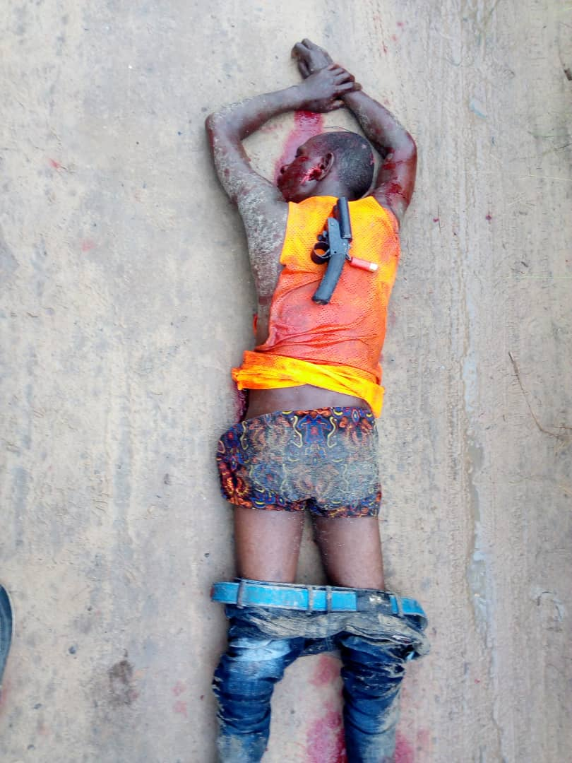 Suspected Armed Robber Lynched in Delta ( See Photo)