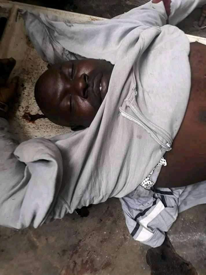 Suspected Yahoo Boy Kills Motorcyclist While Avoiding Police (See Photo) 1