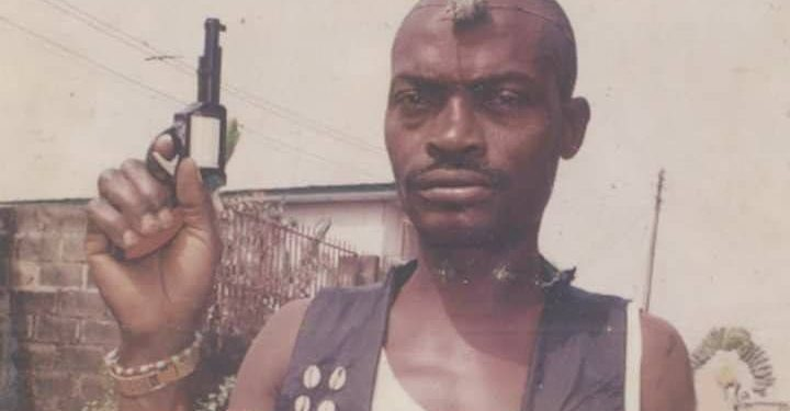 Photo of Popular Armed Robber in the 90s, Shina Rambo Reappears