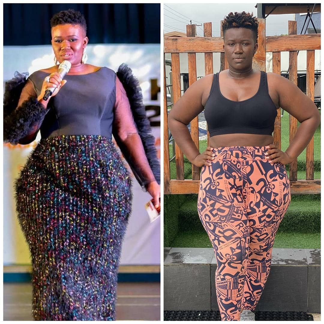 Real Warri Pikin Shares Incredible Weight Loss Transformation Photos