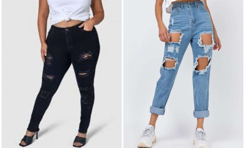Photo of Lady Forced to Sew Her Ripped Jeans Before She Could Get National ID