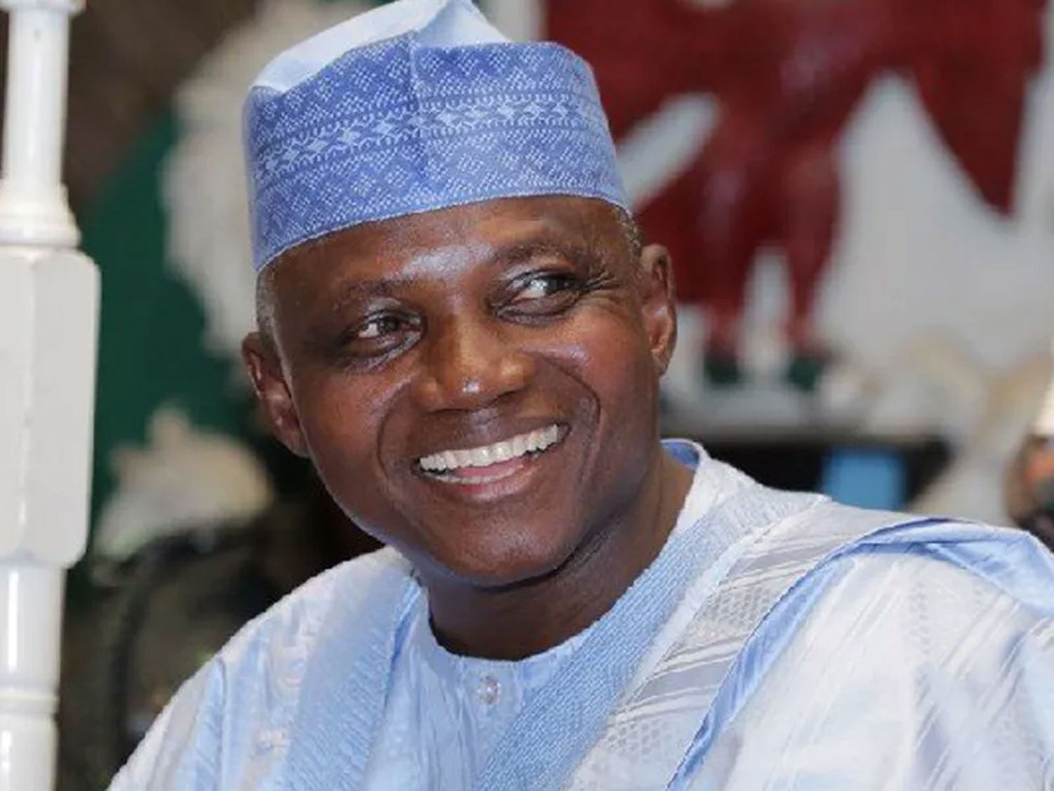 President Spokesman, Garba Shehu Under Fire For Hugging a Woman